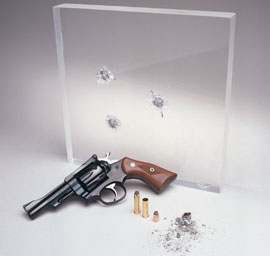 Bullet Protection Acrylic