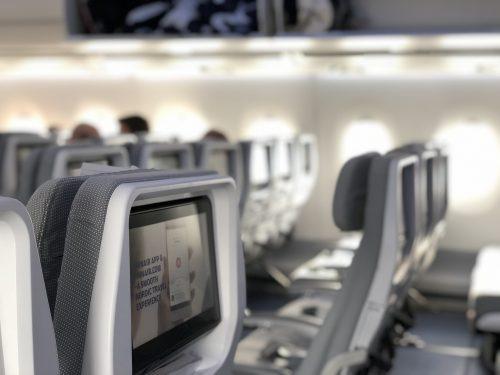 Airplane interior PVC