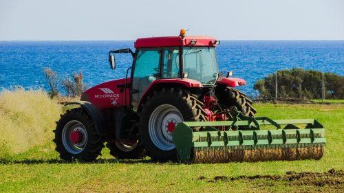 Korad PMMA Acrylic decorative protective Tractor